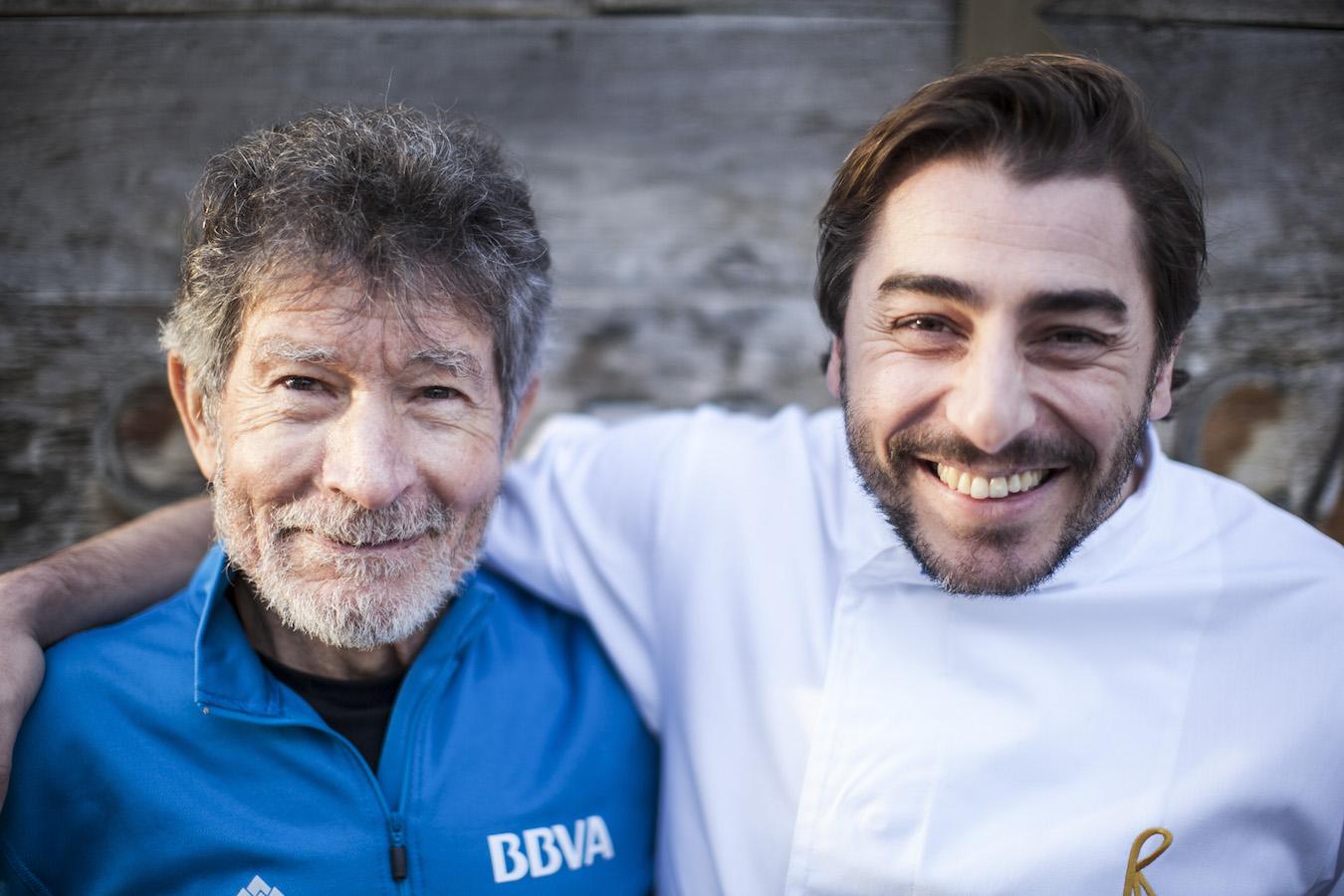 Carlos Soria y Jordi Roca