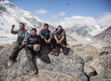 Sherpas a la espera