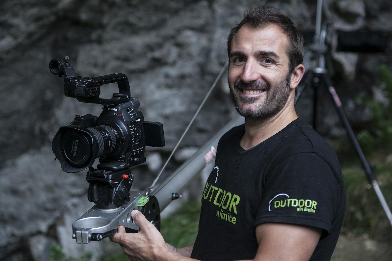 Diego Gallego durante el rodaje / ©dokumalia